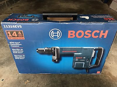 [NEW] Bosch 11316EVS 14 Amp Corded SDS-max Demolition Hammer w/ Carrying Case