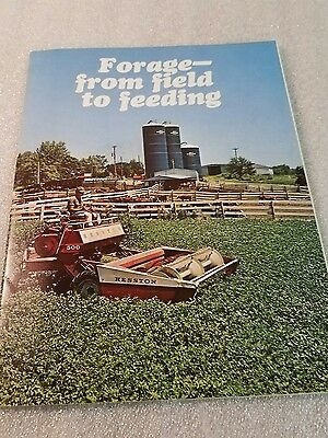 Vintage A.O. Smith Harvestore forage - from field to feeding sales brochure maga