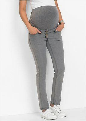 Damen Umstandsmoden Jeans, 210791 in Medium Grey Denim