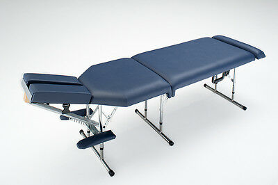 Deluxe Portable Chiropractic Table - Blue