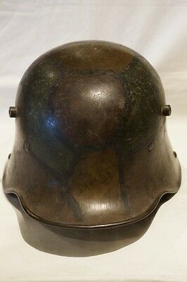 WW1 Imperial German M17 Camouflage Steel Helmet with Liner
