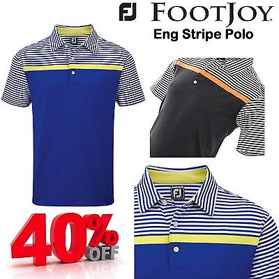 Footjoy Golf Polo Shirt Mens Golf Clothing Footjoy Polo Shirt **new** 2016 Mens