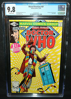 Marvel Premiere #57 - 1st Marvel Comic feat Doctor Who - CGC Grade 9.8 - 1980