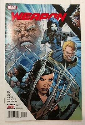 Weapon X #1 (2017) Main Cover First Print Marvel Wolverine Logan