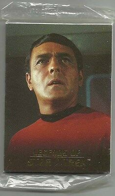 2004 Legends of Star Trek SCOTTY/UHURA Set of 9 SEALED Cards (L1-L9) #1442/1701