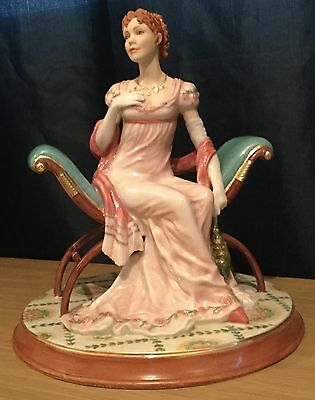 TFM The Franklin Mint Jane Austen's Marianne From Pride & Prejudice Figurine