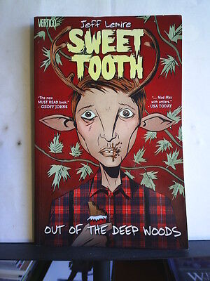 GRAPHIC NOVEL: SWEET TOOTH - OUT OF THE DEEP WOODS  Paperback 2010