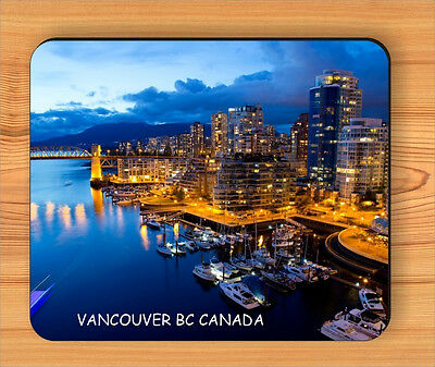 SOUVENIR FROM VANCOUVER, CANADA MOUSE PAD -kdf4Z