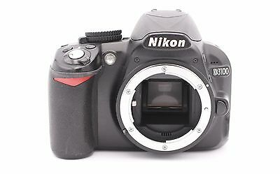 Nikon D D3100 14.2MP Digital SLR Camera - Black (Body Only) - Shutter Count:2110