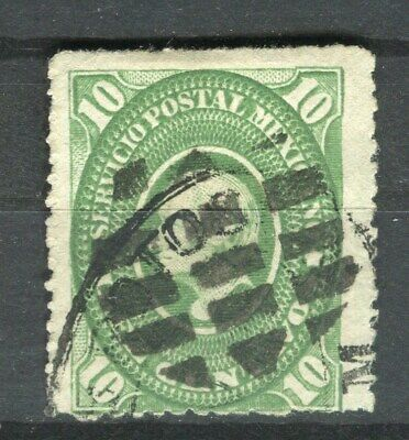 MEXICO;   1884 early classic Hidalgo issue fine used 10c. value