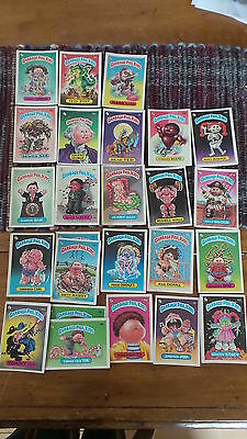 Vintage GARBAGE PAIL KIDS STICKER CARDS, Series a, Collector, Trading