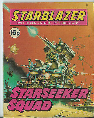 Starseeker Squad,starblazer Space Fiction Adventure In Pictures,no.59,1981