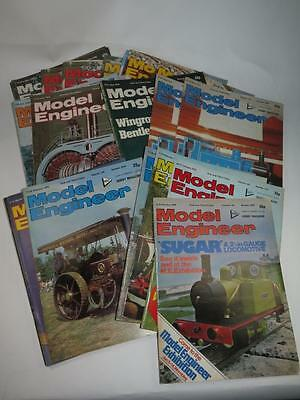 VINTAGE MODEL ENGINEER MAGAZINE 1978 Volume 144 Choose From Selection