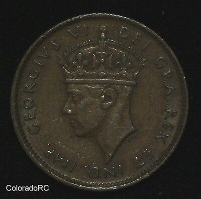 1944 C Newfoundland 1 Cent - George VI - AU - Hard to Find