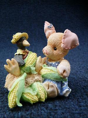 Enesco This Little Piggy, Nothin Corny Bout You And Me NEW (a2889)