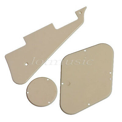 Guitar Pickguard Cavity Switch Cover Scratch Plate For Replacement Cream