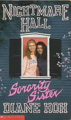 Nightmare Hall #10 - Sorority Sister by Diane Hoh - Paperback - S/Hand