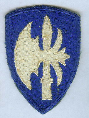 Ww2 Us Army 65Th Infantry Division Snow Back Cut Edge Ssi Patch Wwii