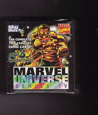 1993 Marvel Universe Skybox Unopened Factory Sealed Set of 180 Cards