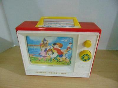 Fisher Price Classic Two Tune Television Retro Classic Toy Traditional Melodies