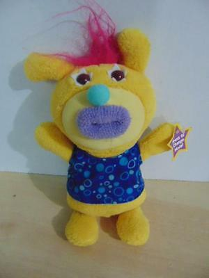 Fisher Price Sing a Ma Jigs Plush Talking Baby Toy NEW Yellow Blue 8 inches
