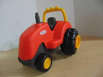 Vintage Little Tikes Red Farm Tractor Dollhouse Play Toy