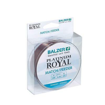 Balzer Platinum Royal Match Feeder 0,22mm sinkend 200m Feederschnur