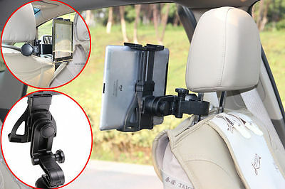 """Car Back Seat Headrest Tablet Mount Holder For 7-10"""" iPad 5 Air Pro Galaxy Large"""
