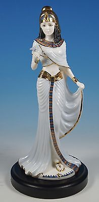 Coalport Bone China Legendary Queen CLEOPATRA Limited Edition Egyptian Figurine