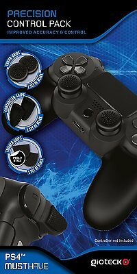 Gioteck Precision Control Pack THUMB & Trigger GRIPS for Sony PS4 Controller NEW