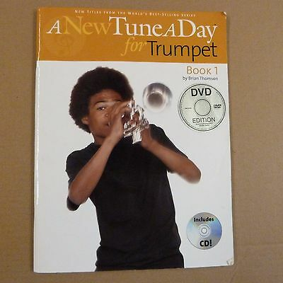 A TUNE A DAY FOR TRUMPET Book 1, DVD + CD, Brian Thomson