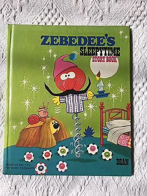 Zebedee's Sleepytime Story Book The Magic Roundabout 1977 1st Edition HB Vintage