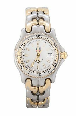 Tag Heuer SEL WG1322 Steel & Yellow Gold Plated Womens Watch, 100% genuine
