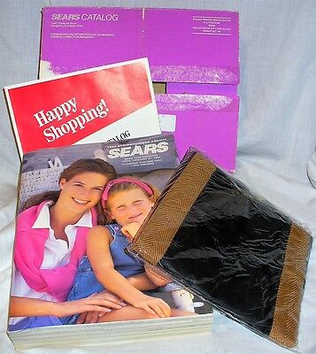 SEARS SPRING 1993 CATALOG*Last*Final*Original Box*Sealed complimentary tote*