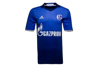 adidas FC Schalke 04 16/18 Home S/S Football Shirt