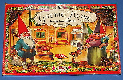 1978 RIEN POORTVLIET GNOME H0ME CARDBOARD MODEL KIT from GNOMES BOOK