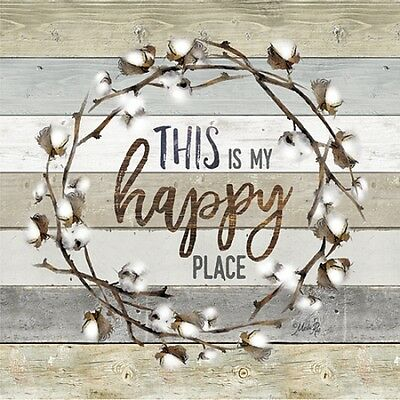 Frame or Plaque by Marla Rae Happy Place Art Print MA1163