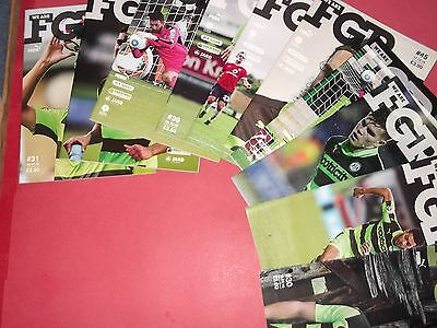 2016/17 Forest Green Rovers Home Programmes Choose From