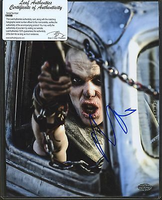 Nicholas Hoult Signed 8x10 Photo Leaf COA AUTO Autograph