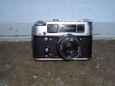 Fed 4 Russian Vintage 35Mm Camera & Original Case