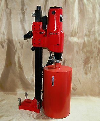 """NEW 10"""" BLUEROCK® Z-1 CORE DRILL 2 SPEED W/ STAND for CONCRETE CORING"""