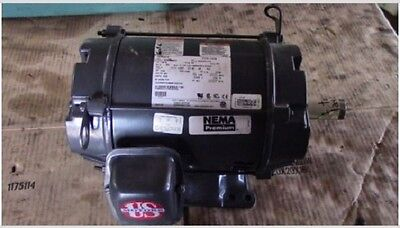 5 hp electric motor 184TZ frame 1765 rpm nema premium 3 phase severe duty 460v