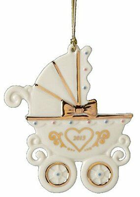 Lenox 2013 Baby's 1st Carriage Ornament