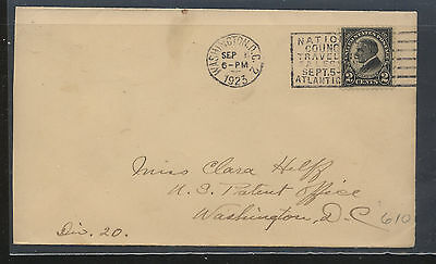 US   #610  Harding  first day cover  1923    13.50       MS0216