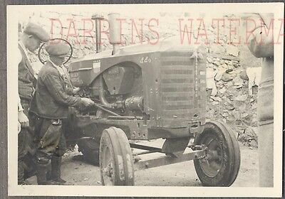 Vintage Photo Massey Harris Farming Tractor 763913