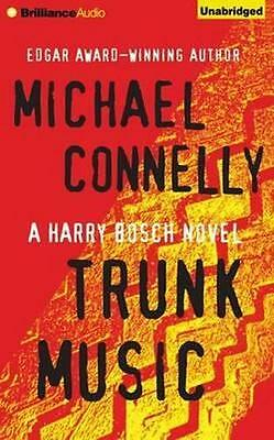 NEW Trunk Music By Michael Connelly Audio CD Free Shipping
