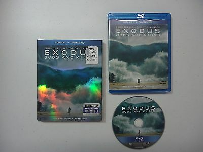 Exodus: Gods and Kings (Blu-ray Disc, 2015) w/ Untested DVD Code