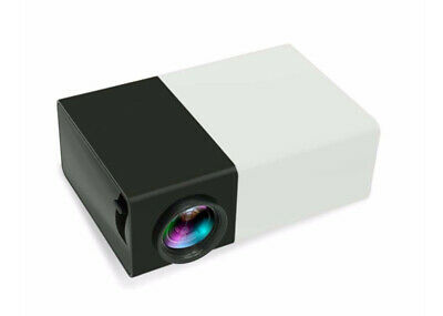600 Lumens Mini Led Home Theatre Projector Full Hd 1920×1080 Portable Black
