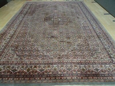 "Very Large PERSIAN design CARPET RUG HAND MADE WOOL Oriental 11ft 6"" x 8ft 2"""