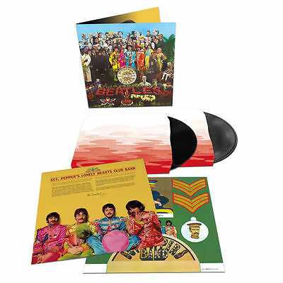 The Beatles - Sgt Pepper's Lonely Hearts Club Band Anniversary 2 X Vinyl Set